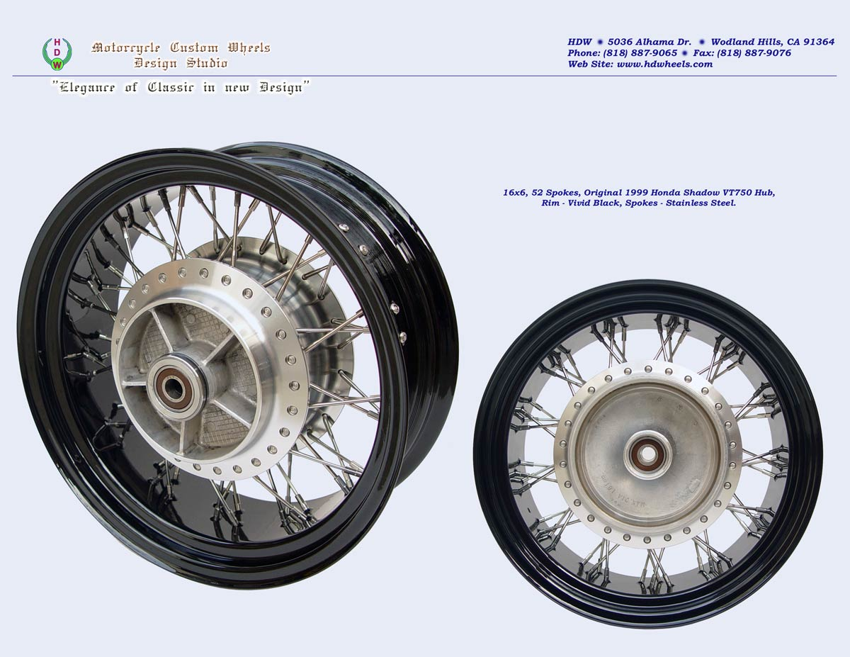 Motorcycle Rims For Honda Shadow 1983 Pictures