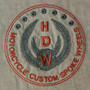 HDW Logo on Khaki T-Shirt