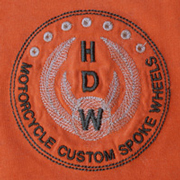 HDW Logo on Orange T-Shirt