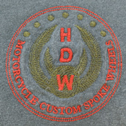 HDW Logo on Pepper T-Shirt
