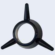 3-Bar Spinner black