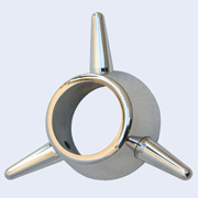 3-Bar Spinner chrome