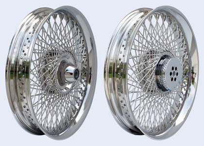 360 Brake setup for spoke wheels
