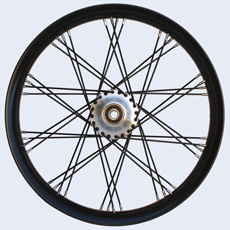 S-Cross lacing 40 spokes