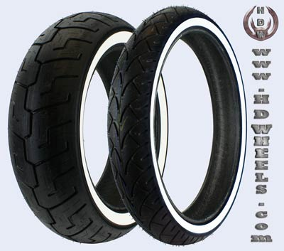 Custom Wide White Wall tires, WWW
