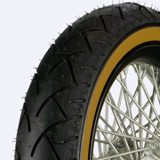Yellow wall tire