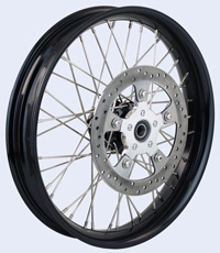 2014 Touring rotor on spoke wheel