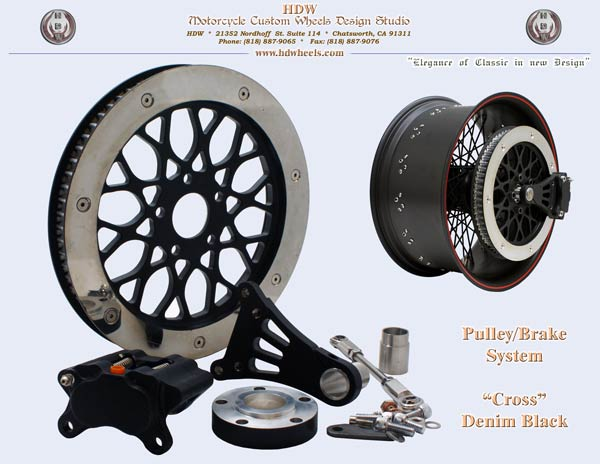 Pulley-brake system