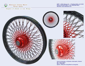 21x2.15, Steel rim, Vivid Black, Candy Red, Fade spokes
