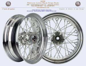 17x6.0, Steel rim, Chrome