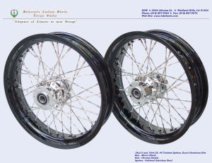 18x3.5 and 18x4.25, Excel aluminum rim,