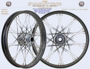 21x2.15, Sun rim, S-Cross, Glass Gray, Silver, Fade Glass Gray-to-Silver spokes
