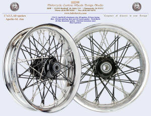17x3.5, Apollo-SL, S-Cross, New Diamond, Chrome and Black, Star-5