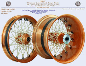 18x3.5 and 18x10.5, Apollo-SL, S-Cross, Antique Candy Copper, Ivory, Black chrome plated nipples