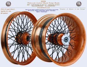 19x2.15 and 18x8.5, Apollo-SL, Antique Candy Copper, Vivid Black, Candy Copper nipples