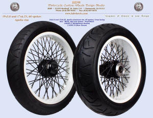 19x3.0 and 17x6.25, Apollo-SL, White, Vivid Black, 110 and 190 tires