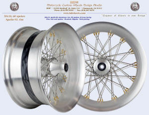 20x10, Apollo-SL, S-Cross, Brushed, Gold (plated) nipples