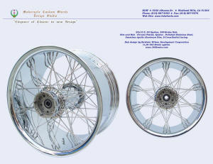 20x10, Apollo-SL, S-Cross-Radial, Chrome, Wide spread, 360 brake