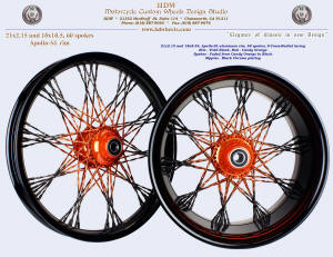 21x2.15 and 18x4.25, Apollo-SL, S-Cross-Radial, Fat Twisted faded spokes, Vivid Black, Candy Orange