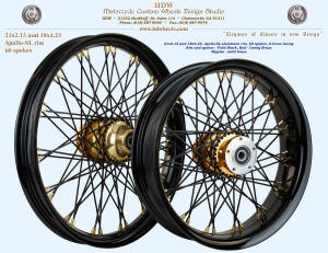 21x2.15 and 18x4.25, Apollo-SL, S-Cross, Vivid Black, Candy Brass, Brass nipples