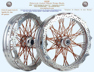 21x3.25, Apollo-SL, S-Cross-Radial, Polished, Candy Copper, Perimeter brake