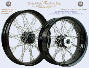 21x3.25 and 18x5.5, Apollo-SL, S-Cross-Radial, New Diamond, Vivid Black